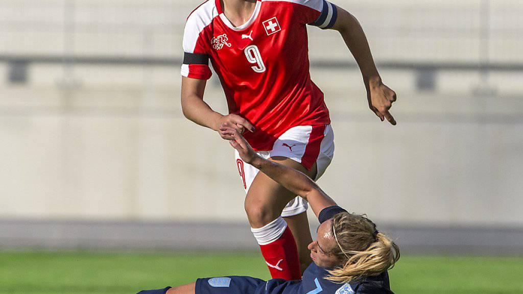 Lia Wälti ist sowohl bei Turbine Potsdam als auch im Schweizer Nationalteam eine der Leaderinnen