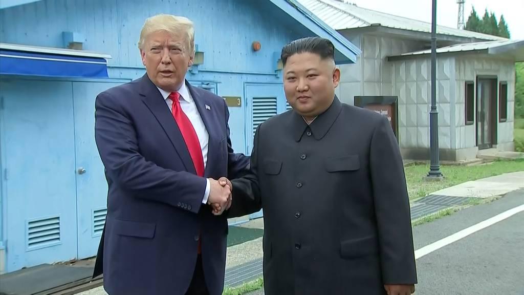 Erster amtierender US-Präsident beschritt Nordkorea