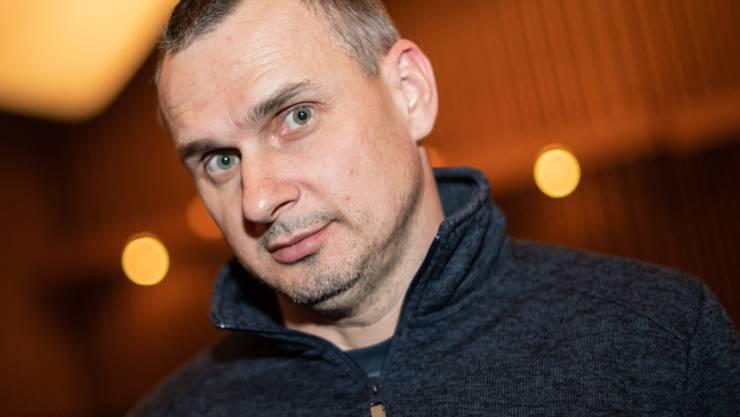 Oleg Senzow, Filmregisseur aus der Ukraine, bekam mit gut einem Jahr Verspätung den renommierten Sacharow-Preis 2018 überreicht. (Archivbild)