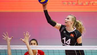 Laura Künzler (Nummer 14) war mit 9 Zählern die zweitbeste Punktesammlerin im jungen Schweizer Team