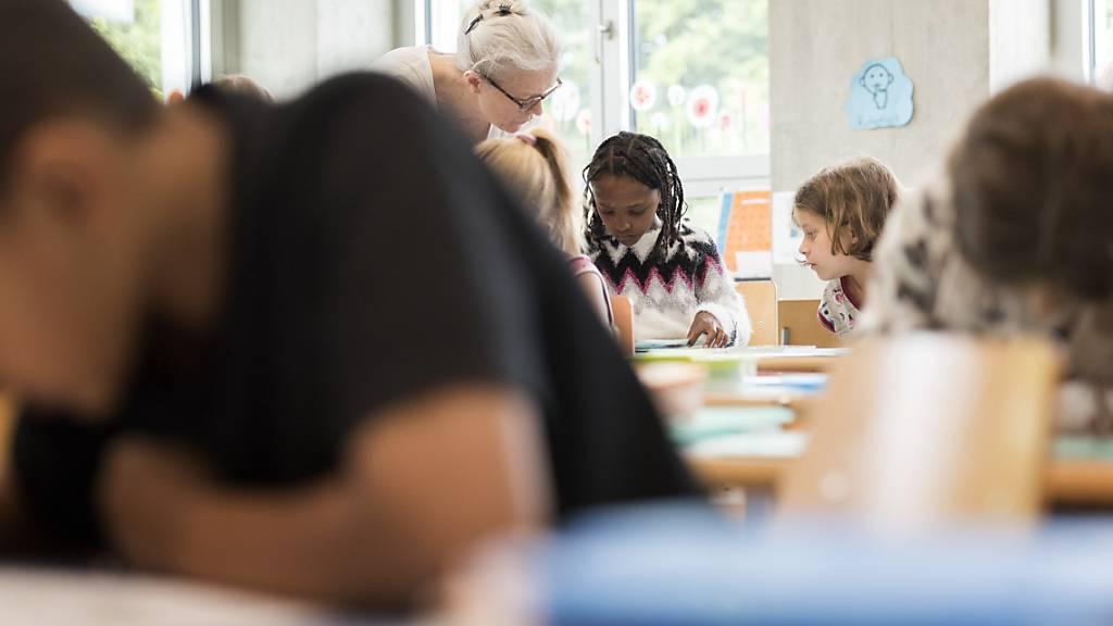 Die Evaluation der Volksschule im Kanton Luzern ist laut einem Bericht eine Erfolgsgeschichte. (Symbolbild)
