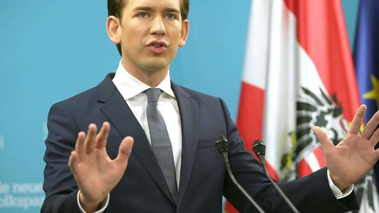 Österreich verdiene eine rasche und schnelle Regierungsbildung, sagte ÖVP-Chef Sebastian Kurz.