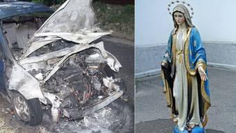 Mehrere Anschläge auf Zeichen des Bösen in Oberfreiämter Kirchen