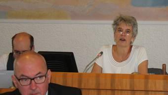 Daniela Gauglers Rede bei der Landratssitzung.