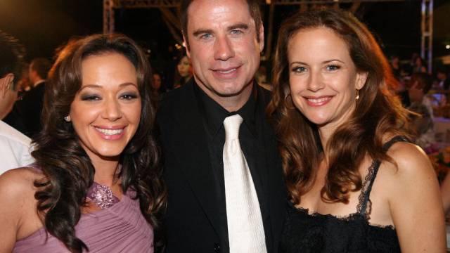 Remini (l), Travolta und Preston 2006 auf Scientology-Gala (Archiv)