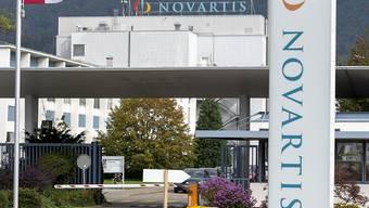 Der Pharmakonzern Novartis - hier das Werk in Stein - setzt sein Wachstum dank der guten Entwicklung von neuen Medikamenten fort. (Archivbild)