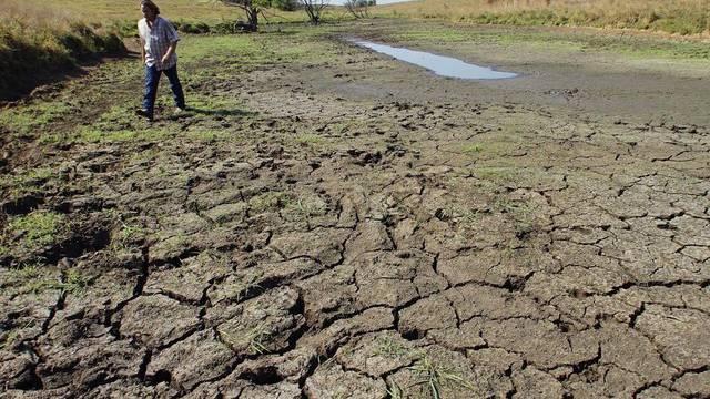 Die Dürre belastet die Bauern unter anderem in den USA