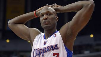 Seine Freunde sorgen sich um ihn: Lamar Odom. (Archivbild)
