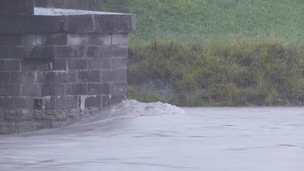 Pegel steigt: Rheintal wappnet sich gegen Hochwasser