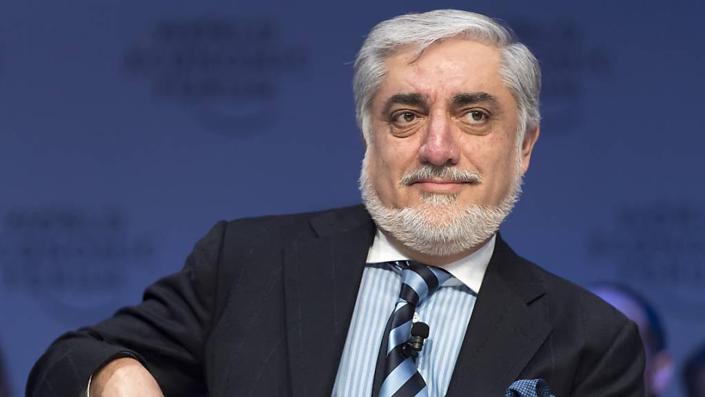 Abdullah Abdullah hat sich nach der Präsidentenwahl in Afghanistan zum Sieger erklärt. (Archivbild)
