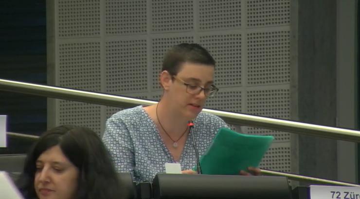 Basta-Grossrätin Tonja Zürcher sagt, dass «die Wohnungsnot längst in der Mitte der Gesellschaft» angekommen sei. Darum sei der Schutz von bezahlbarem Wohnraum dringend angezeigt.