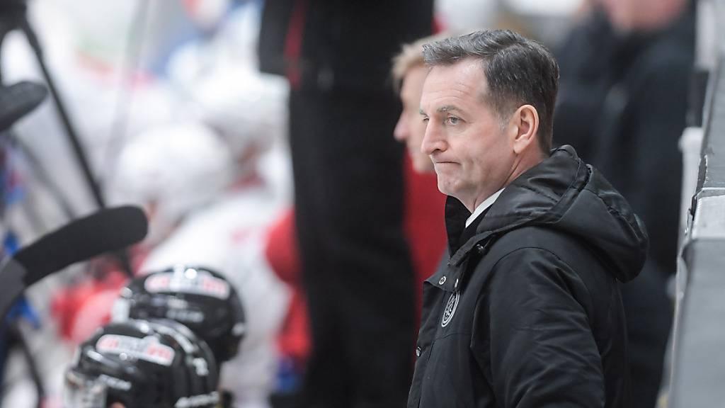 Der Gesichtsausdruck von Trainer Serge Pelletier sagt alles: Dem HC Lugano lief es gegen Lausanne nicht so gut wie in den letzten erfolgreichen Spielen