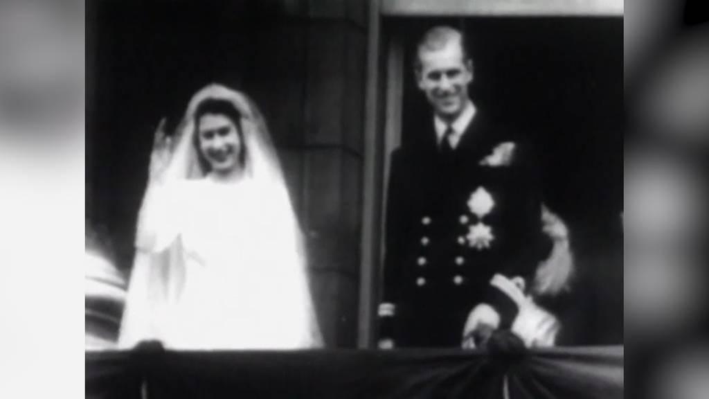 Die Rekordhalter Queen Elizabeth und Prinz Philip