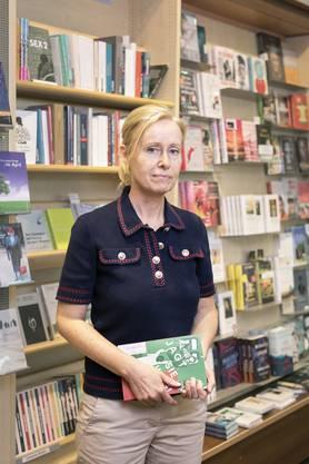 Christine Siegrist, Leiterin von Bücher Doppler, darf sich nach dem Lockdown-Exit über viel Kundenbesuch freuen.