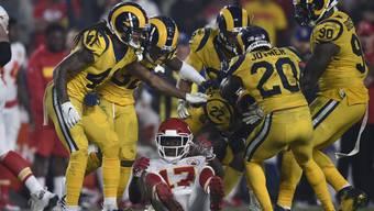 Die Los Angeles Rams und die Kansas City Chiefs boten den Zuschauern Spektakel pur