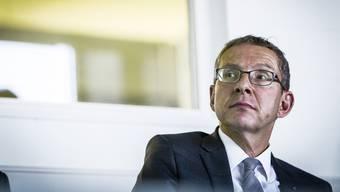 Justizminister Urs Hofmann spricht Klartext nach dem Ausgang der Durchsetzungsinitiative.