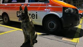 Diensthund Romulus stoppte mit einem beherzten Biss ins Bein einen Einbrecher. Drei Männer wollten am späten Montagabend in die Coop-Filiale am Stadelhofen einbrechen.