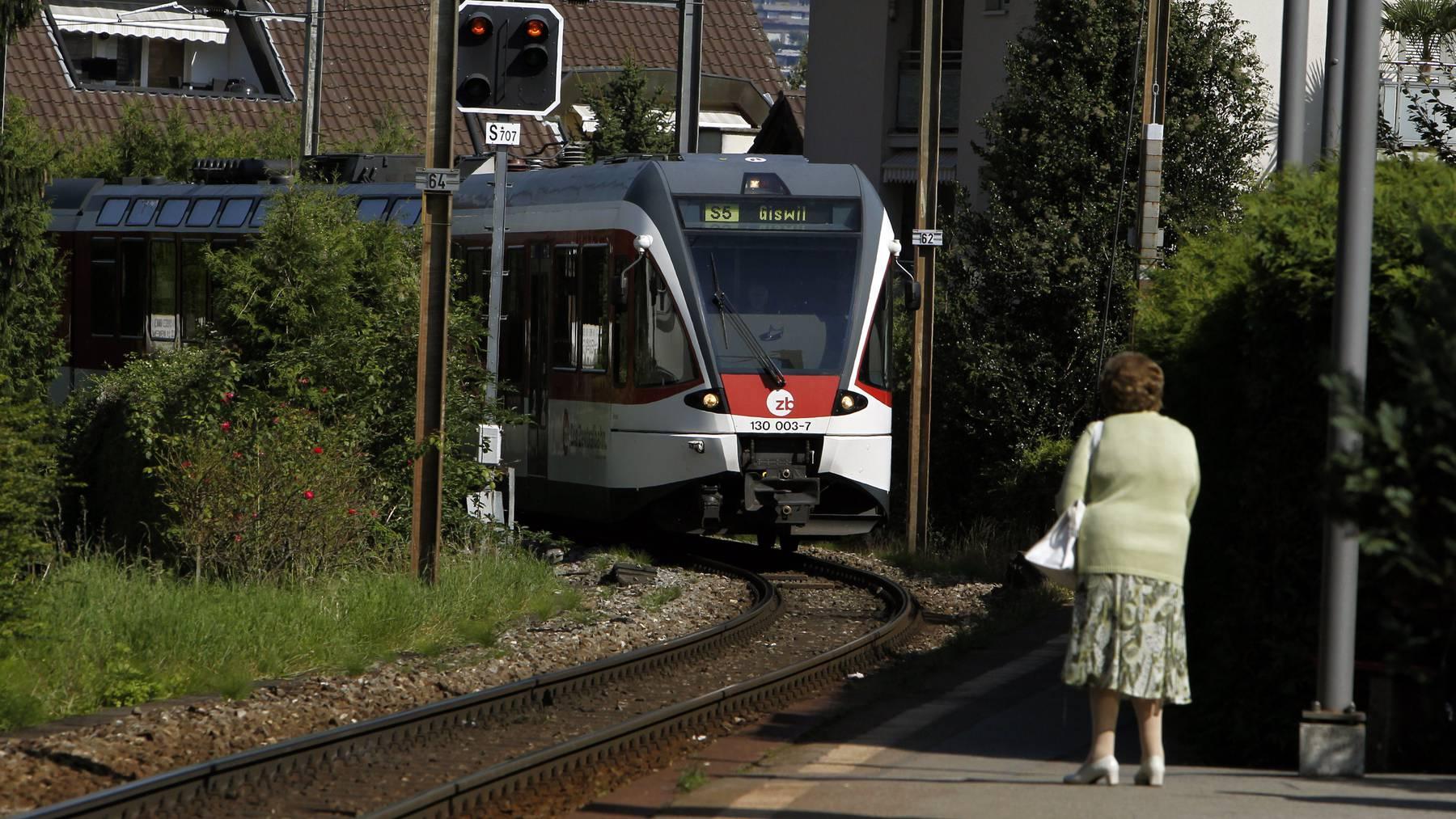 Zentralbahn in Hergiswil