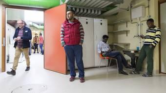 Notspital Muri: Hier betreut der Kanton Aargau die Flüchtlinge. Doch das ist nicht überall so im Aargau.