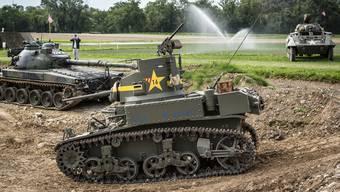 Einer der Convoy-Stars: Der US-Panzer vom Typ Stuart M3.
