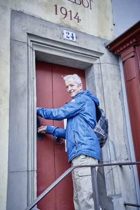 Jeden Tag geht Werner Ziswiler in den Obertorturm, steigt die 130 Treppenstufen in den neunten Stock hinauf und kümmert sich um die Uhr.