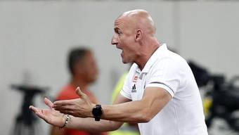 Goran Djuricin im August 2018 als Cheftrainer von Rapid Wien