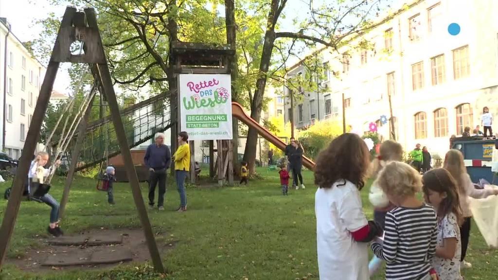 St.Galler Wiesli-Streit: Anwohner reichen Initiativtext ein