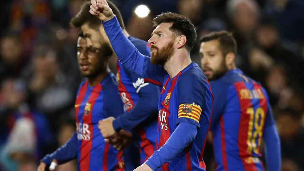 Lionel Messi war von Celta Vigo nicht zu stoppen