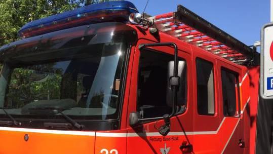 Die Feuerwehr war im Einsatz. (Symbolbild)