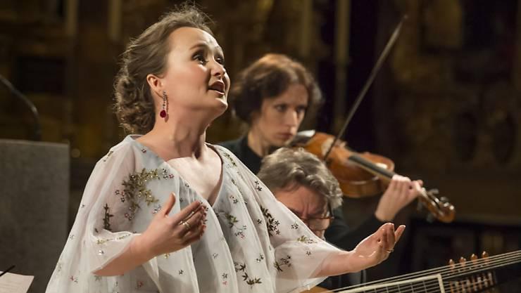 Sorgte am 17. März für ein ausverkauftes Eröffnungskonzert des Lucerne Festival zu Ostern: Die russische Sopranistin Julia Lezhneva mit dem Ensemble La Voce Strumentale. Das Festival geht am Sonntag zu Ende.