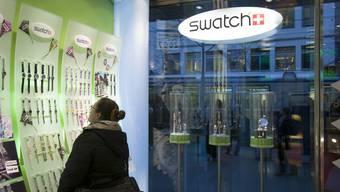 Erfolgreich: Der Uhrenkonzern Swatch hat soviel verkauft wie noch nie (Archiv)
