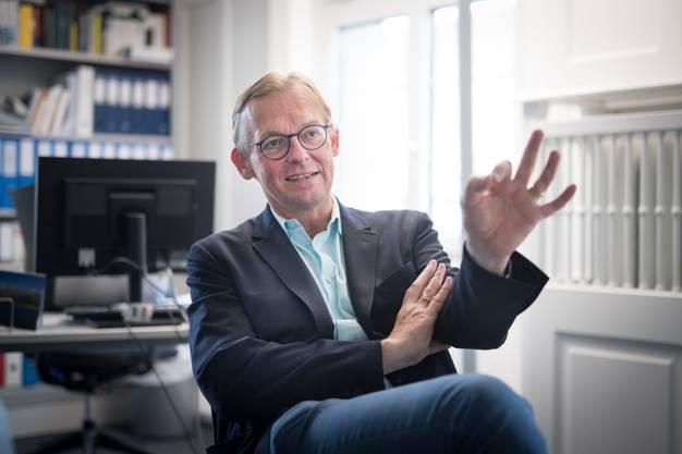 Dieter Thomä, Philosoph Bild: Benjamin Manser