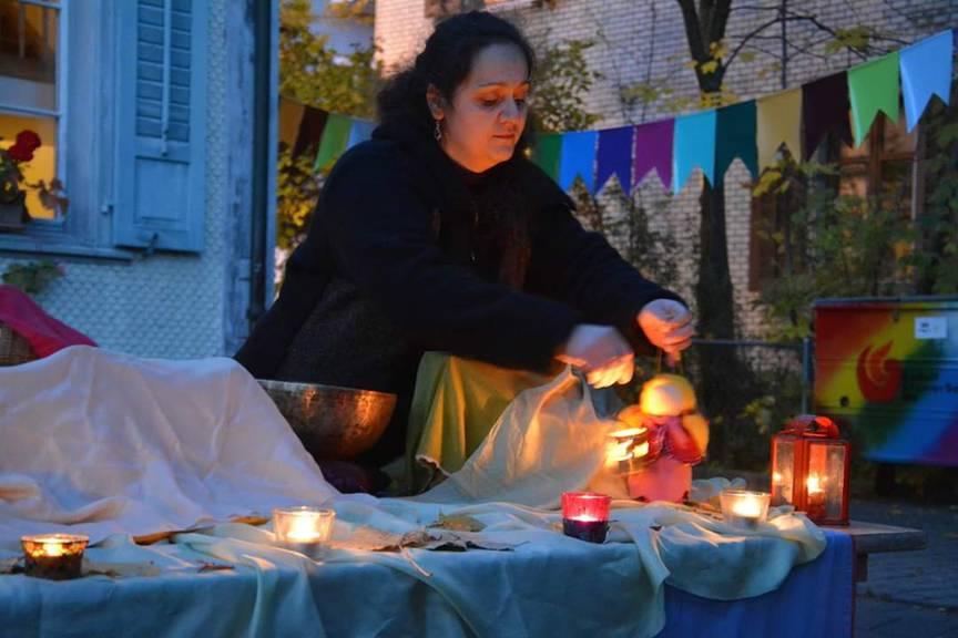 Kindergärtnerin Alina Glass ist seit vielen Jahren schon bei der Rudolf-Steiner-Schule in Wil. (Bild: zVg)