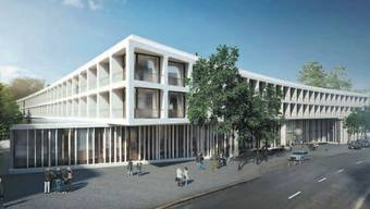 Das Unispital Basel plant einen Neubau des Klinikums 2 - das Projekt umfasst auch einen Turm