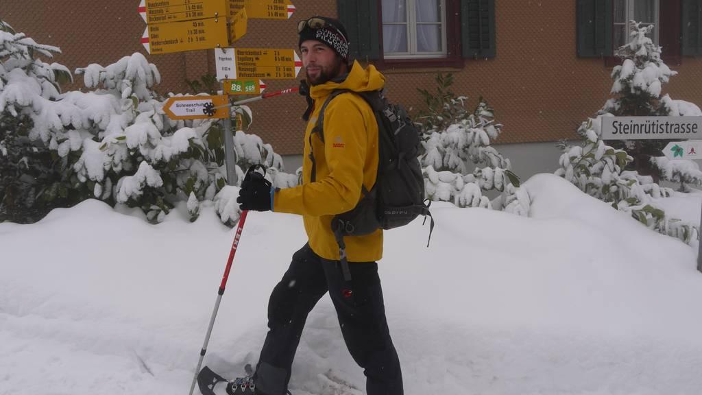Freizeittipp: Schneeschuhlaufen am Berg der Stille