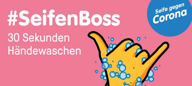 Die Kampagne «#Seifenboss» verbreitete sich nach der Lancierung im März 2020 rasant – auch über die Kantonsgrenzen hinaus.