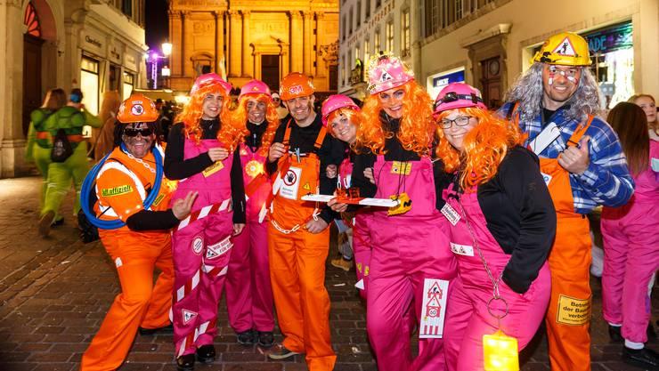Gassenfasnacht in der Altstadt Solothurn