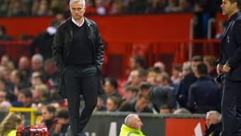 José Mourinho ist nach der Niederlage gegen Tottenham leicht angesäuert