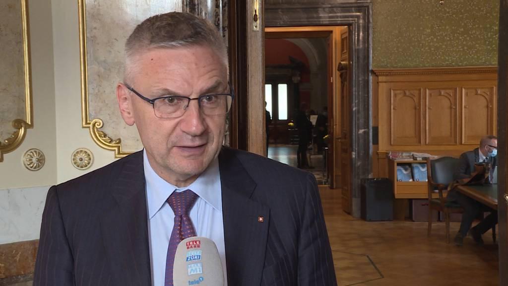 Nach der Aargauer SVP-Schlappe kommt Parteipräsident Andreas Glarner unter Druck