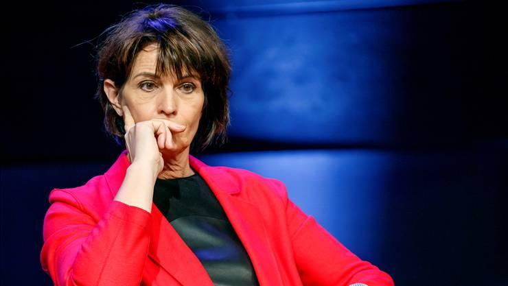Doris Leuthards Rücktritt aus dem Bundesrat wird von grossen Problemen in ihrem Departement begleitet. SALVATORE DI NOLFI/keystone