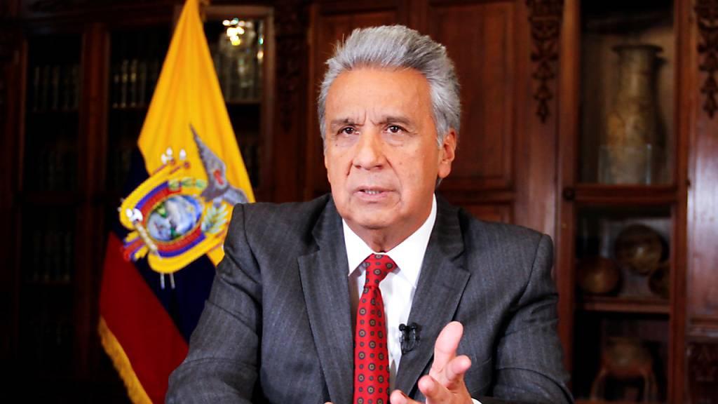 Ecuadors Präsident bezichtigt Vorgänger der Destabilisierung