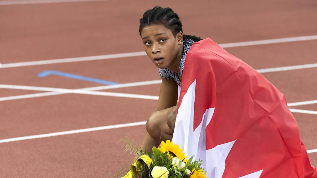 Doch keine Sperre für 400-m-Weltmeisterin Salwa Eid Naser