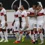 Die Spieler von Stuttgart wollen auch unter dem neuen Trainer jubeln.
