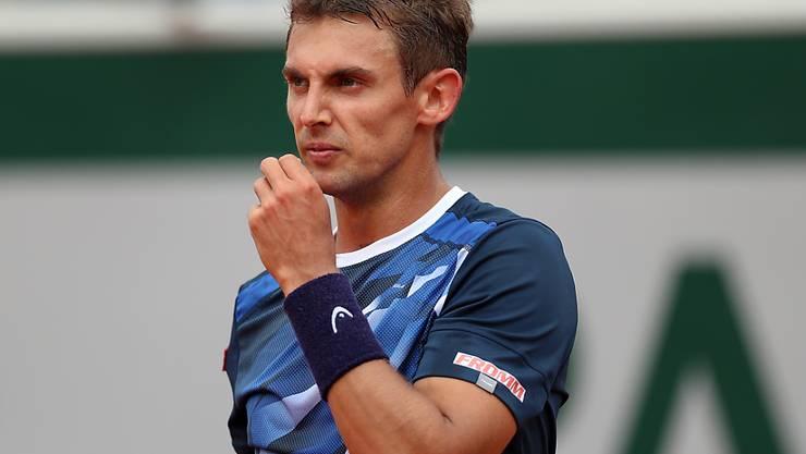 Novak Djokovic war für Henri Laaksonen eine Nummer zu gross