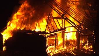 Wohnhaus eines Bauernhofs in Liestal wurde ein Raub der Flammen – hoher Sachschaden.