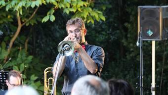 Parkkonzert der ABB Big Band im Boveripark in Baden