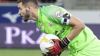 Yanick Brecher hält für den FC Zürich im Wallis einen Punkt fest