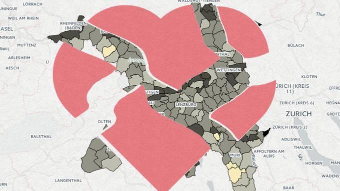 Wo es im Aargau die meisten Geschiedenen hat
