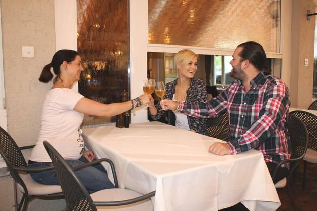 In ihrem Lieblingsrestaurant in Zürich kennt Rinderknecht die Wirte persönlich