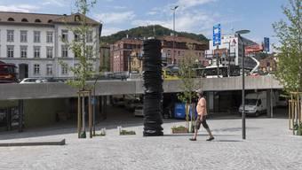 Dieses Kunstwerk gibt in Baden zu reden.